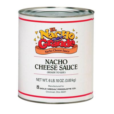 Gold Medal 5253 One-Step Cheese Sauce for Nachos w/ (6) #10 Cans on Sale