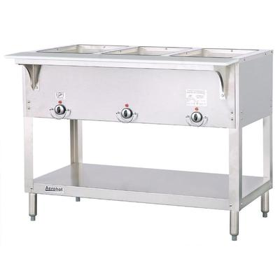 Duke E303SW Aerohot Steam Table w/ 3 Sealed Wells & Carving Board, 120v on Sale