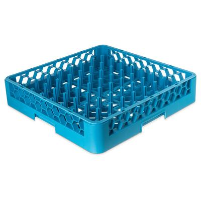 Carlisle RP14 Full-Size All Purpose Plate/Tray Peg Rack - Blue on Sale