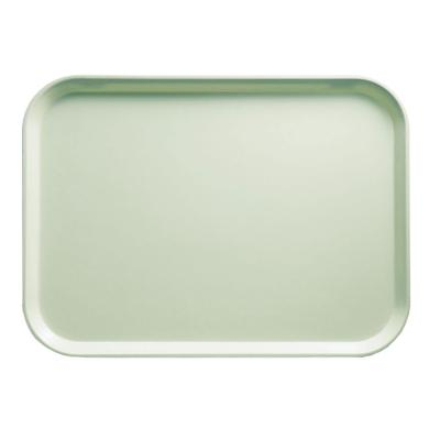 Cambro 1014429 Fiberglass Camtray Cafeteria Tray - 13.75L x 10.6W, Key Lime on Sale