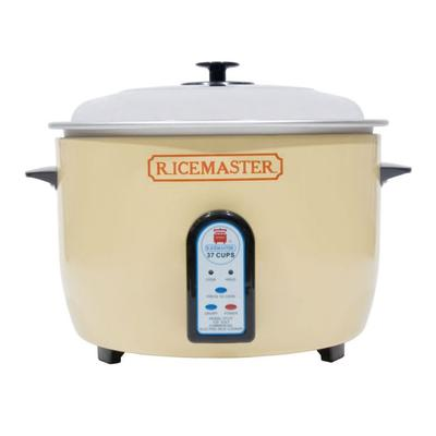 Town 57137 37 Cup Electric Rice Cooker, One Touch, Auto Cook/Hold, 120v