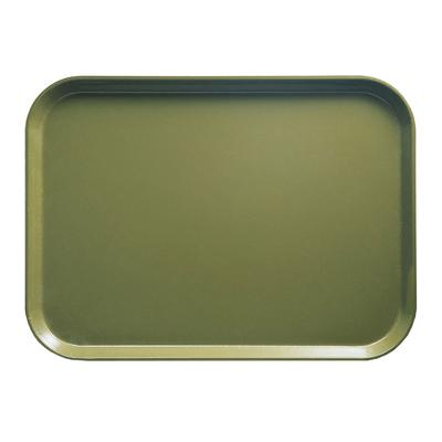Cambro 1216428 Fiberglass Camtray Cafeteria Tray - 16.3L x 12W, Olive Green on Sale
