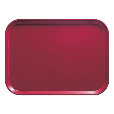 Cambro 1216505 Fiberglass Camtray Cafeteria Tray - 16.3L x 12W, Cherry Red on Sale