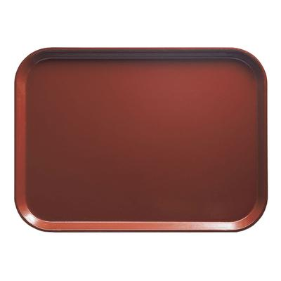 Cambro 1318501 Fiberglass Camtray Cafeteria Tray - 17.75L x 12.6W, Real Rust on Sale
