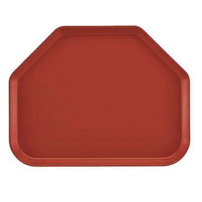 Cambro 1422TR501 Fiberglass Camtray Cafeteria Tray - 22L x 14W, Real Rust on Sale