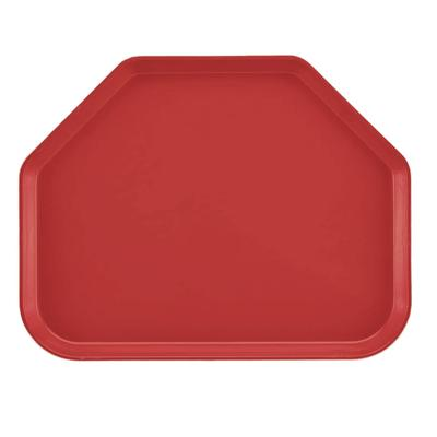 "Cambro 1520TR171 Fiberglass Camtray? Cafeteria Tray - 19 1/2""L x 14 1/2""W, Tuscan Gold"