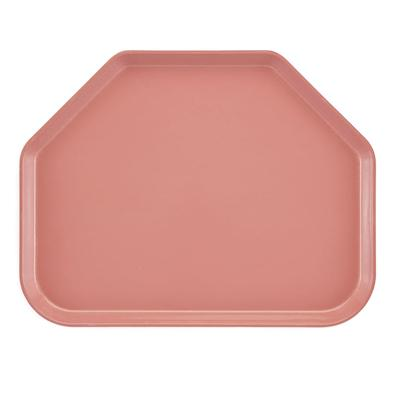 Cambro 1520TR409 Fiberglass Camtray Cafeteria Tray - 19.5L x 14.5W, Blush on Sale