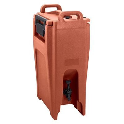 Cambro UC500402 5.25 gal Ultra Camtainer Insulated Beverage Dispenser, Brick Red on Sale