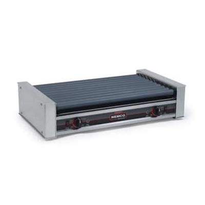 Nemco 8045W-220 45 Hot Dog Roller Grill - Flat Top, 220v on Sale