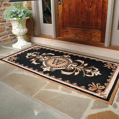 Huntington Monogrammed Door Mat ...
