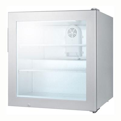Summit SCFU386 24 One-Section Display Freezer w/ Swinging Door - Rear Mount Compressor, 115v on Sale