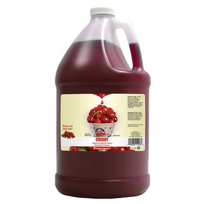 Gold Medal 1223 Cherry Snow Cone Syrup, Ready-To-Use, (4) 1 gal Jugs on Sale
