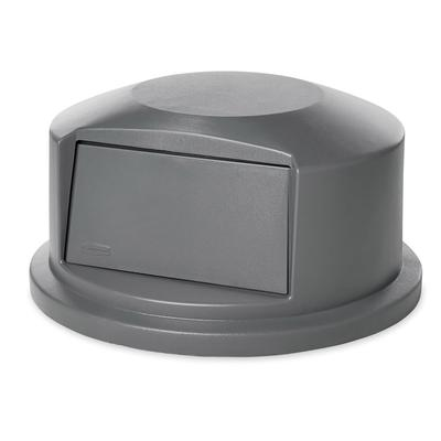 Rubbermaid FG264788GRAY Round Dome Trash Can Lid - Plastic, Gray on Sale