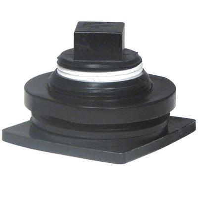 Rubbermaid FG505012 Stock Tank Drain Plug, Black on Sale