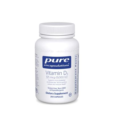 Pure Encapsulations Cardiovascular Support - Vitamin D3 125mcg (5,000
