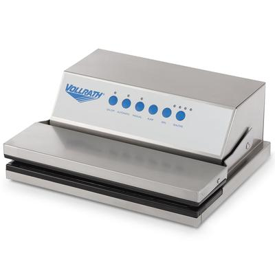 Vollrath 40858 Vacuum Pack Machine - Tabletop, Dry Items Only, Stainless 120v on Sale