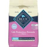 Blue Buffalo Life Protection Formula Small Breed Chicken & Brown Rice Recipe Dry Dog Food, 15-lb