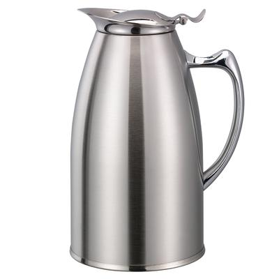 Service Ideas WP1SA 1 liter Pitcher w/ Double-Wall Insulation, Brushed Stainless on Sale
