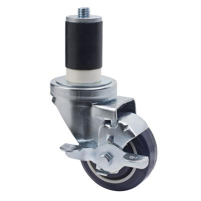 Focus FECST3 Expanding Stem Swivel Caster w/ Brake, 3 Diameter on Sale