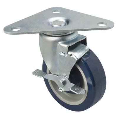 Focus FPCTR5 Heavy Duty Triangle Plate Caster Set w/ 500 lb Capacity Per Wheel, 5 on Sale
