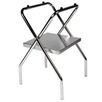 CSL 1054S-C-1 31 Open Top Tray Stand w/ Shelf & Wide Base on Sale