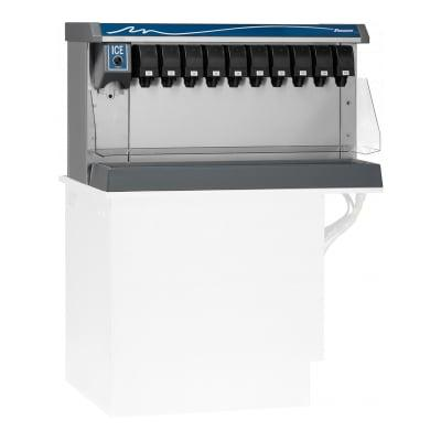 Follett VU155B8LL Countertop Nugget Ice & Beverage Dispenser - 150 lb Storage, Cup Fill, 115v