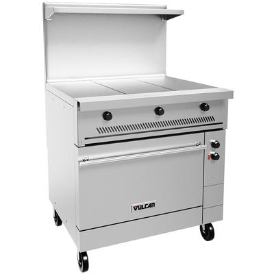 Vulcan EV36-S-3HT-208 36 Electric Range with (3) Hot Top, 208v/1ph on Sale