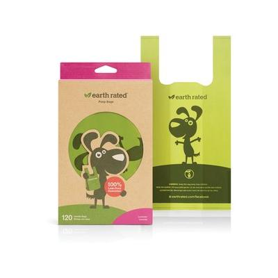 Earth Rated PoopBags Handle Bags, 120 handle bags, scented