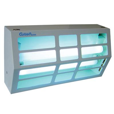 Curtron BL300 Powder-Coated Silent Fly Trap w/ 80 Watt UV Light, Covers 1800 sq ft, White on Sale