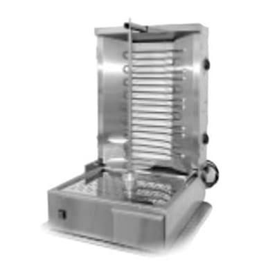 Equipex GR 60E Gyro Grill w/ 55 lb Meat Capacity - (2) Heating Zones, 208 240v/3ph on Sale