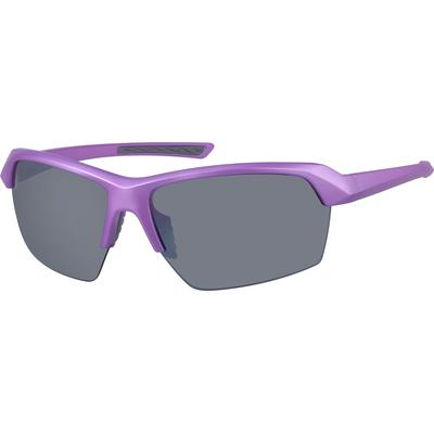 Zenni Women's Sunglasses Purple Plastic Frame
