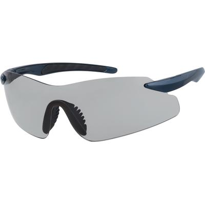 Zenni Men's Sporty Sunglasses Blue Plastic Frame