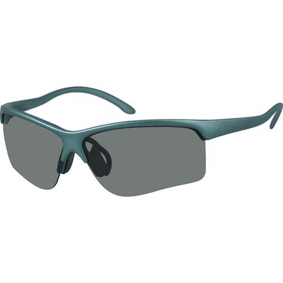 Zenni Men's Sunglasses Green Plastic Frame