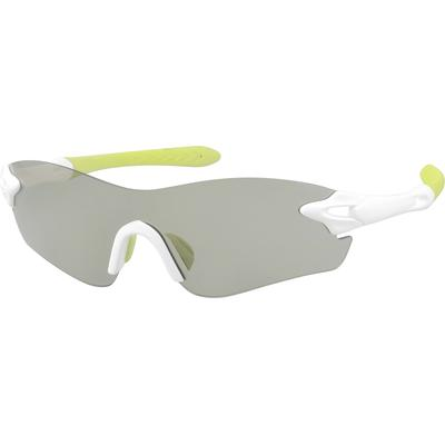Zenni Men's Sunglasses White Pla...