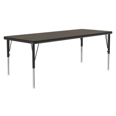 Correll A2436-REC 01 Activity Table w/ 1.25 High Pressure Top, 36W x 24D, Walnut on Sale