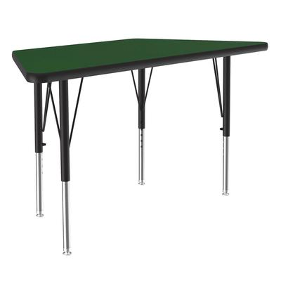 Correll A2448-TRP 39 Activity Table w/ 1.25 High Pressure Top, 48W x 24D, Green on Sale
