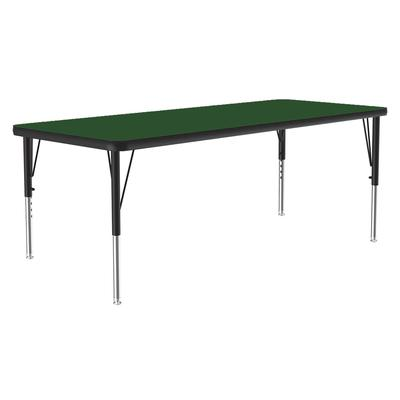 Correll A2460-REC 39 Activity Table w/ 1.25 High Pressure Top, 60W x 24D, Green on Sale
