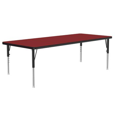 Correll A3048-REC 35 Activity Table w/ 1.25 High Pressure Top, 48W x 30D, Red on Sale