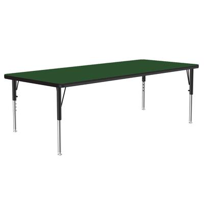 Correll A3060-REC 39 Activity Table w/ 1.25 High Pressure Top, 60W x 30D, Green on Sale