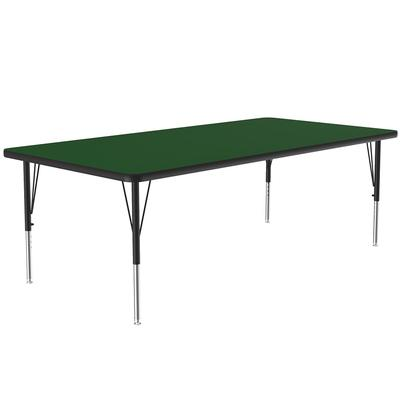 Correll A3660-REC 39 Activity Table w/ 1.25 High Pressure Top, 60W x 36D, Green on Sale