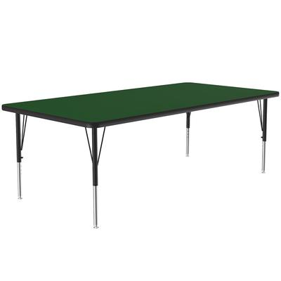 Correll A3672-REC 39 Activity Table w/ 1.25 High Pressure Top, 72W x 36D, Green on Sale