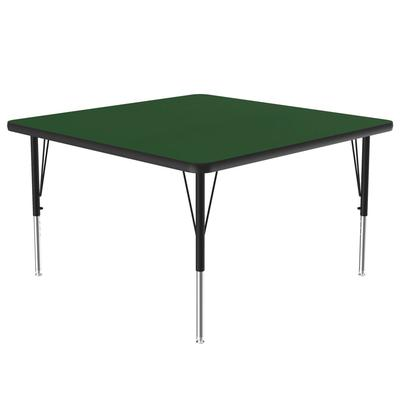Correll A4848-SQ 39 Activity Table w/ 1.25 High Pressure Top, 48W x 48D, Green on Sale