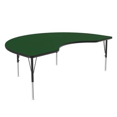 Correll A4872-KID 39 Activity Table w/ 1.25 High Pressure Top, 72W x 48D, Green on Sale