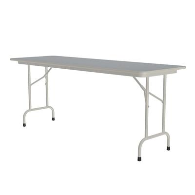 Correll CF2460PX 15 Folding Table w/ .75 High-Pressure Top, 24 x 60, Gray Granite on Sale