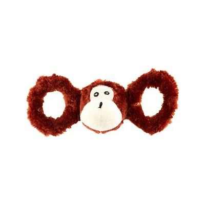 Jolly Pets Tug-a-Mals Monkey Dog Toy, Medium