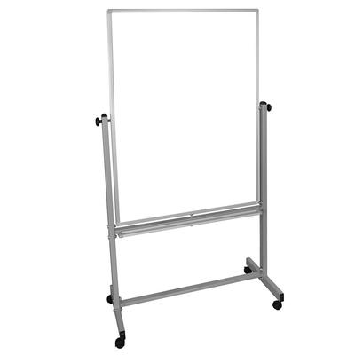 Luxor MB3648WW Reversible Magnetic Whiteboard w/ Aluminum Frame, 36x48 on Sale