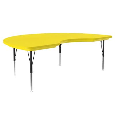 Correll AR4872-KID 28 Activity Table w/ Plastic Top, 72W x 48D, Yellow on Sale