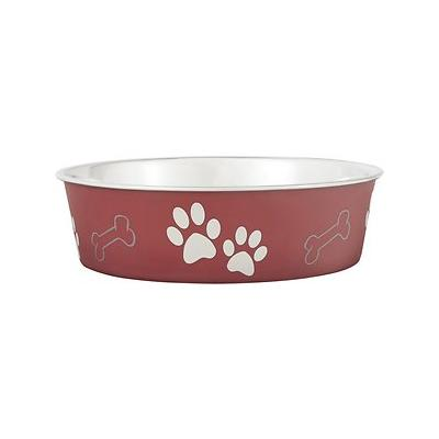 Loving Pets Bella Bowls Pet Bowl, Merlot, Large