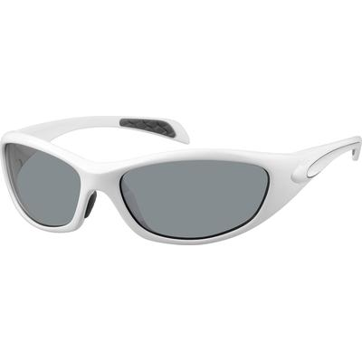 Zenni Women's Sunglasses White P...