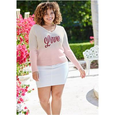 """Color Mini Jean Skirt Shorts & Skirts - White"""